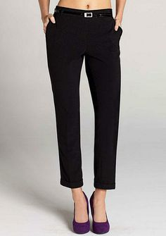 Chelsea Belted Ankle Pant - alloy.com