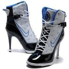 big sale 1c4e1 2a9f4 www.asneakers4u.com  Womens Nike Air Jordan 6 Rings High Heels White Black
