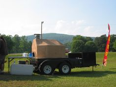 mobile bread oven | Wood Fired Brick Ovens | Ovens | Appliances Online