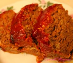 The best meatloaf.  The family really liked this but thought the top sauce was a little too sweet.  I may cut the sugar down a bit next time.