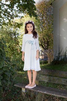 Dress Up Day: 5 New Children's Sewing Patterns Girls Lace Dress, Girls Dresses, Girl Outfits, Cute Outfits, Dress Up Day, Childrens Sewing Patterns, Baptism Dress, Rainbow Wedding, Ruffle Trim
