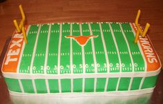 Texas Longhorns cake