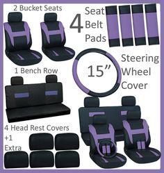 Car seat cover set/Ebay