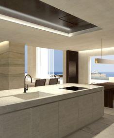 Modern kitchen : Architect Dieter Vander Velpen