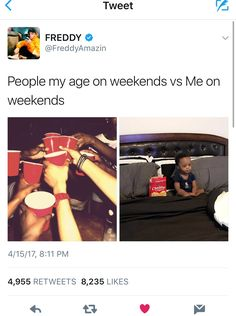 That is sooooooo accurate, I'd rather watch videos on my iPad until 3 in the morning than get drunk with some people I don't even know
