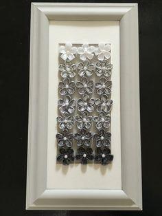Handmade Fabric Flowers In 22x12 Frame By Epeun On Etsy · Home DecoHandmade  FlowersFabric ...