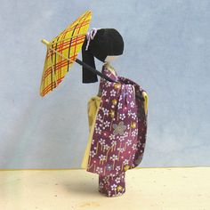 The World's Best Photos of ningyo and washi Japanese Origami, Japanese Paper, Japanese Doll, Snow Leopard Drawing, Paper Dolls, Art Dolls, Paper Child, Asian Quilts, Japan Crafts