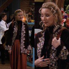 Fashion Tv, Fashion Beauty, Fashion Outfits, Friends Phoebe, Friends Tv, Lisa, Phoebe Buffay, 90s Outfit, Friend Outfits
