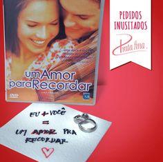Eu e você = um amor para recordar.  #frases #amor #pedido #namoro #compromisso