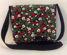 Hey, I found this really awesome Etsy listing at https://www.etsy.com/listing/202108979/strawberry-fields-cross-body-messenger