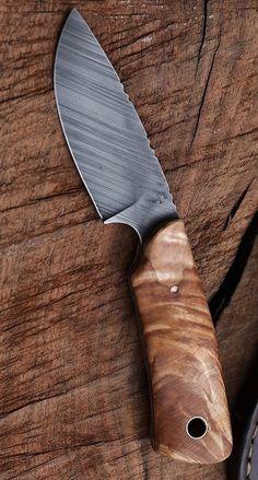 Custom hunter in fancy maple