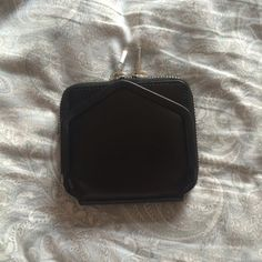 Alexander Wang Black Leather Wallet Beautiful and brand new, just an old style. Never used. Alexander Wang Accessories