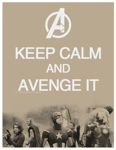 The Avengers I want this as a shirt!