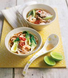 Hot And Sour Prawn Noodle Soup | In Season: Winter | MiNDFOOD