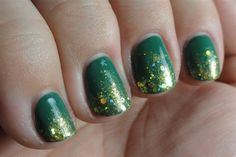 OPI Jade is the New Black with Lynnderella Be Mining for a Heart of Gold