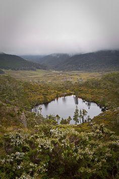 Wombat Pool in Cradle mountain, Tasmania