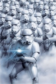 STAR WARS - troopers  - Europosters