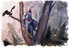 Assassins Creed III - Connor by Arlequinne.deviantart.com on @DeviantArt