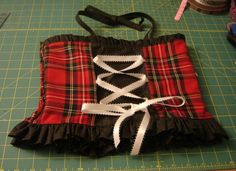 How to Make a Corset Top With a Shirred Back | YouCanMakeThis.com