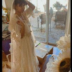 70's Gunne Sax Turquoise Floral Midi Sundress Sz S | Etsy Bohemia People, Midi Sundress, Double Ruffle, Gunne Sax, Cream Flowers, Flower Shape, Lovely Dresses, Bodice, Floral Prints