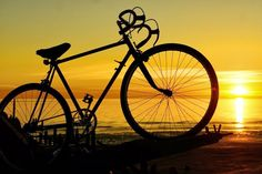 Road Bike and Sunsets....