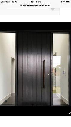 trendy ideas for front door handles modern entrance Modern Entrance Door, Modern Front Door, Front Door Entrance, House Front Door, Front Door Design, Entry Doors, Best Front Doors, Black Front Doors, Wood Front Doors
