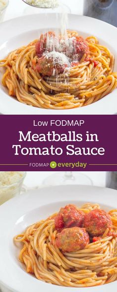Our low FODMAP, gluten-free meatballs are versatile! Enjoy with spaghetti or stuff inside bread for a meatball sub!