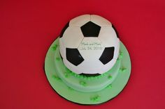 Soccer Ball Groom's Cake New Jersey