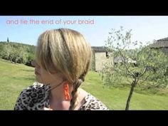 Hair Romance TV - Braided bun hairstyle how to - YouTube