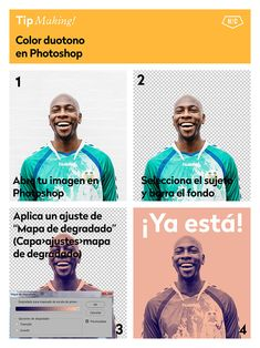 5 trucos para modificar el color en Photoshop - Hello! Creatividad #trucos #photoshop #fotografia #edicion