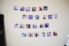 Just put in an order for Instagram Prints. Soooo cool! Can't wait to hang them like this.  :D
