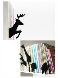 Felt Animal Book Index dividers designed by Hiroshi Sasagawa at Japanese Design Shop.