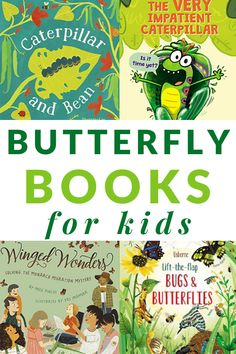 The best of the best books about butterflies for kids including board books and picture books for toddlers, preschoolers, and kindergarteners. Pre-school Books, Good Books, Preschool Themes, April Preschool, Best Toddler Books, Free Kids Books, Butterfly Books, Fiction And Nonfiction, Animal Books