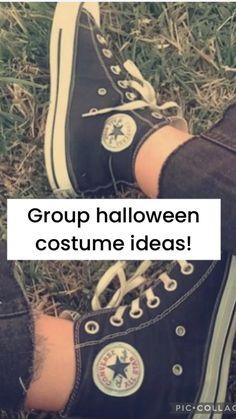 Cute Group Halloween Costumes, Trendy Halloween, Halloween Inspo, Cute Costumes, Halloween Outfits, Halloween Costumes For Teens Girls, Matching Costumes, Group Costumes, Family Halloween
