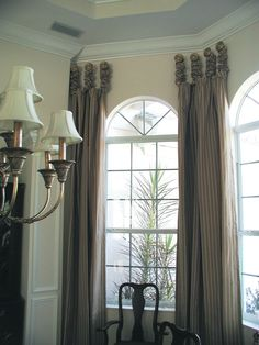 Arched Window Curtain Rod Home Projects Pinterest