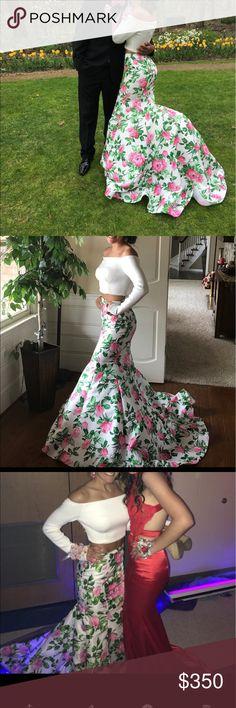 Sherri hill prom dress Only worn once. Like new condition. Super cute!! Sherri Hill Dresses Prom
