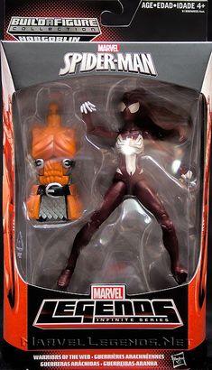 Marvel Legends Hobgoblin Series Ultimate Spider-Woman