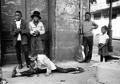New Orleans 1960, by William Claxton