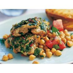 Coriander and chilli grilled chicken fillets recipe - By Australian Table