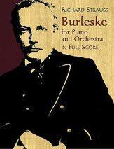 Burleske for Piano and Orchestra (Full Score)