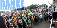 Kilez More bei der Stopp Ramstein Demo 2016