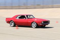 Chad Ryker won the Early Muscle class, this weekend, at the NMCA West Spring Nationals Hotchkis Autocross. His LS1-powered '68 Camaro rides on TCI Engineering suspension with RideTech coilovers, Wilwood Disc Brakes, and Falken Tires on Forgeline DS3 wheels. Stay tuned for a full gallery on this car, coming later this week!  #Forgeline #DS3 #notjustanotherprettywheel #madeinUSA #Chevy #Camaro