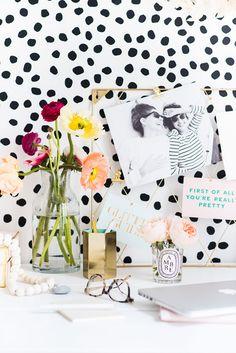 Erin Sousa Office decor - wall decals