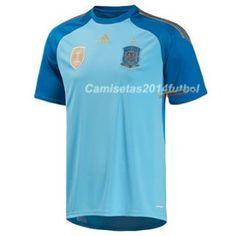 Nueva Camiseta del España Portero por Mundo 2014