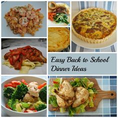 My easy back to school dinner ideas help make a full schedule much more manageable and life a lot more fun.