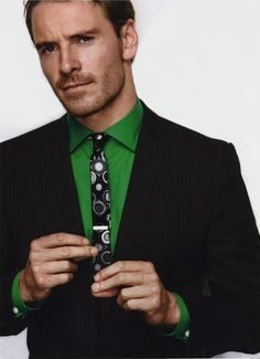 Michael Fassbender, the boy from Kerry. I remember him in the Guinness ad.