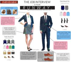infographic What to wear for the job interview. Image Description What to wear for the job interview Interview Dress, Interview Advice, Interview Outfits, Interview Style, Job Interviews, Interview Preparation, Professional Dresses, Professional Women, Business Professional