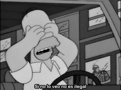 Find images and videos about phrases, simpsons and homer on We Heart It - the app to get lost in what you love. Simpsons Meme, Simpsons Frases, Simpsons Quotes, The Simpsons, Homer Simpson, Lisa Simpson, Right In The Childhood, Vintage Cartoon, Futurama