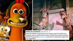 Chicken Run Movie, Chicken Runs, Big Brother 7, Peter Lord, Julia Sawalha, Miranda Richardson, Netflix Uk, Animation Film, Stop Motion