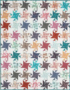 Twinkling Stars, Fons and Porters Quilting Quickly Winter 2014